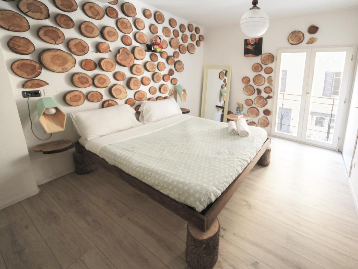 The private rooms at Dopa Hostel come with an artistic twist
