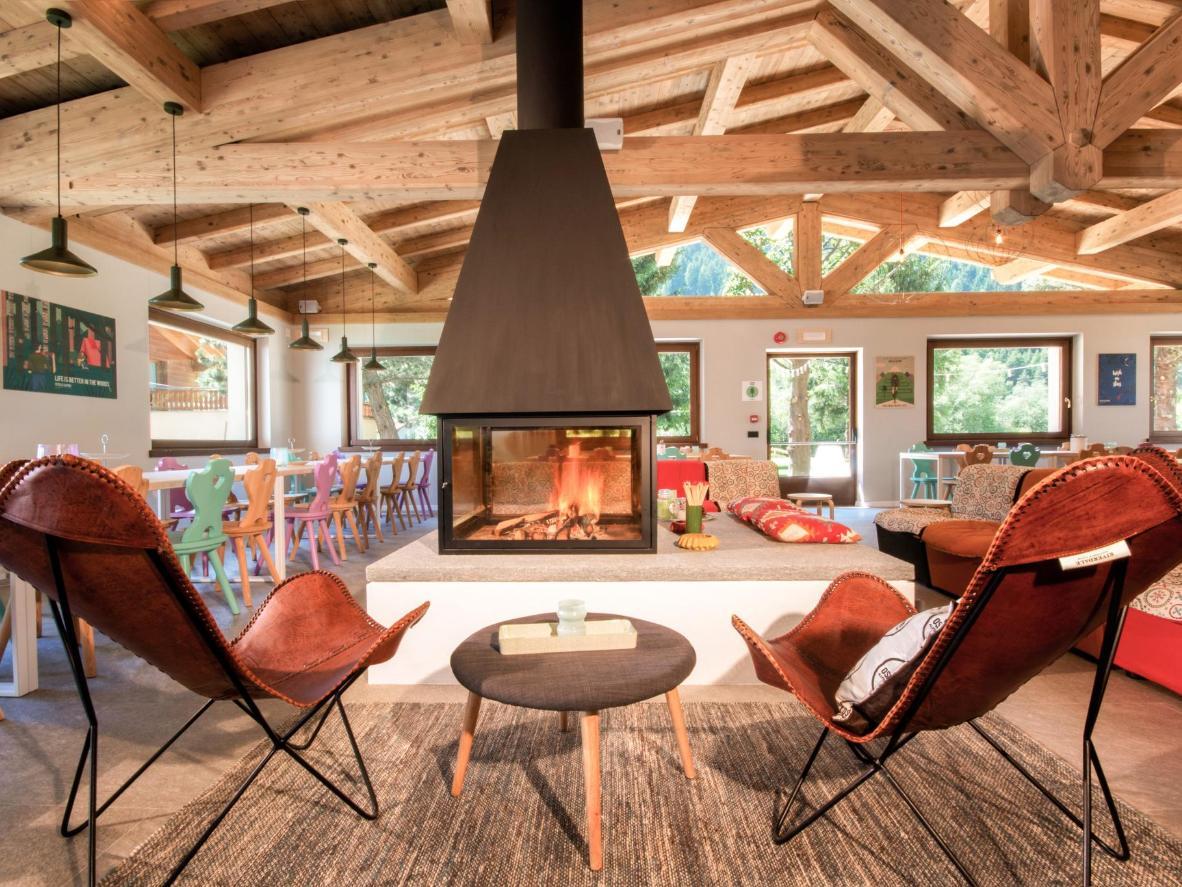 Ostello Alpino's pinewood interiors bring the mountains that bit closer