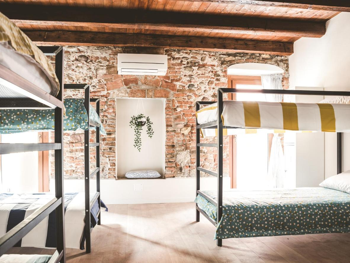 In fair Verona, lay your head in Hostello's characterful dorms