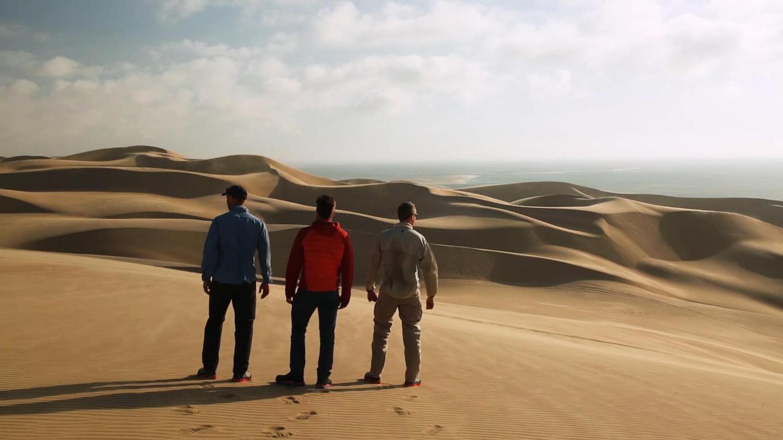 Lelaki-lelaki ini merupakan trio atlet bertaraf dunia, dikenali sebagai Latitude 35