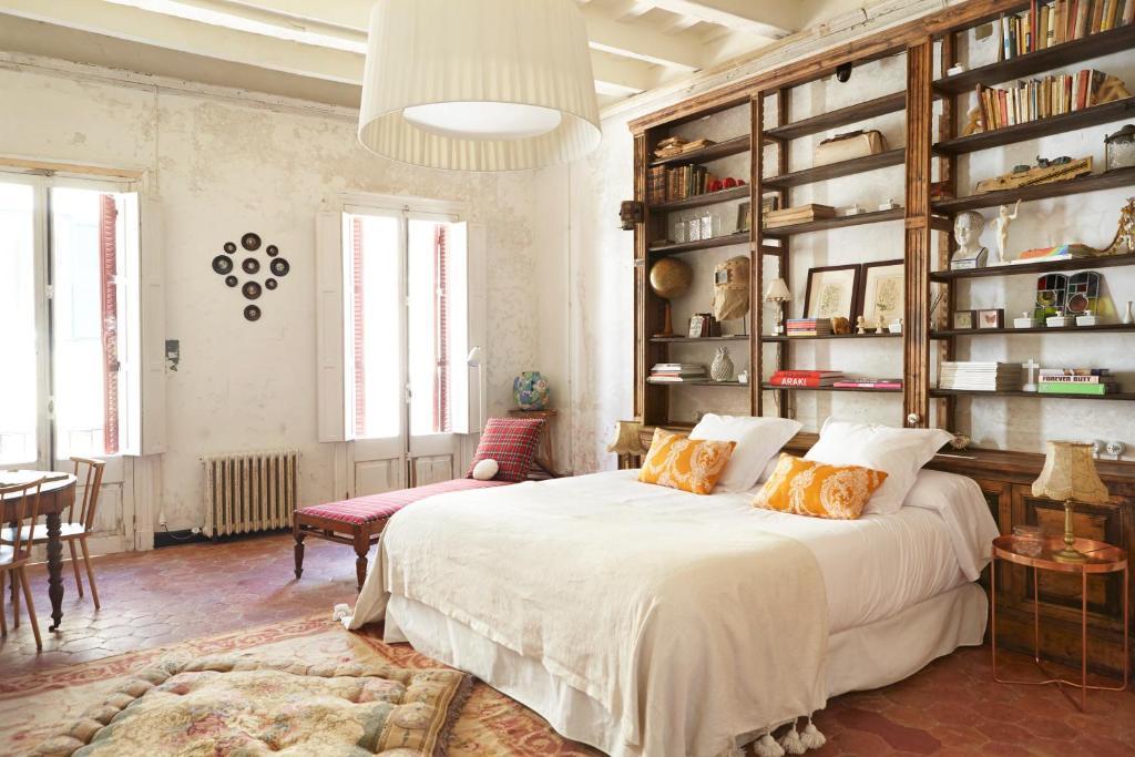 Cama o camas de una habitación en Casa Telmo