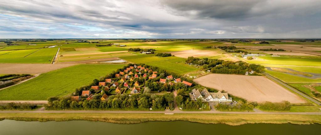 A bird's-eye view of Prins Hendrik Bungalowpark