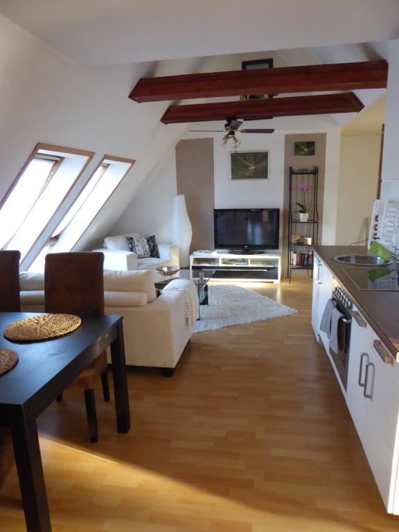 Küche/Küchenzeile in der Unterkunft Ostseeferienwohnung Storchennest