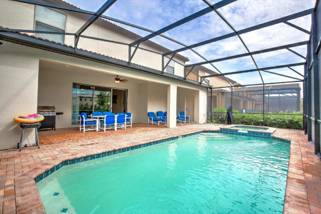 The swimming pool at or close to 8 BR/6 BA Pool Villa in New 5 Star Resort #1187
