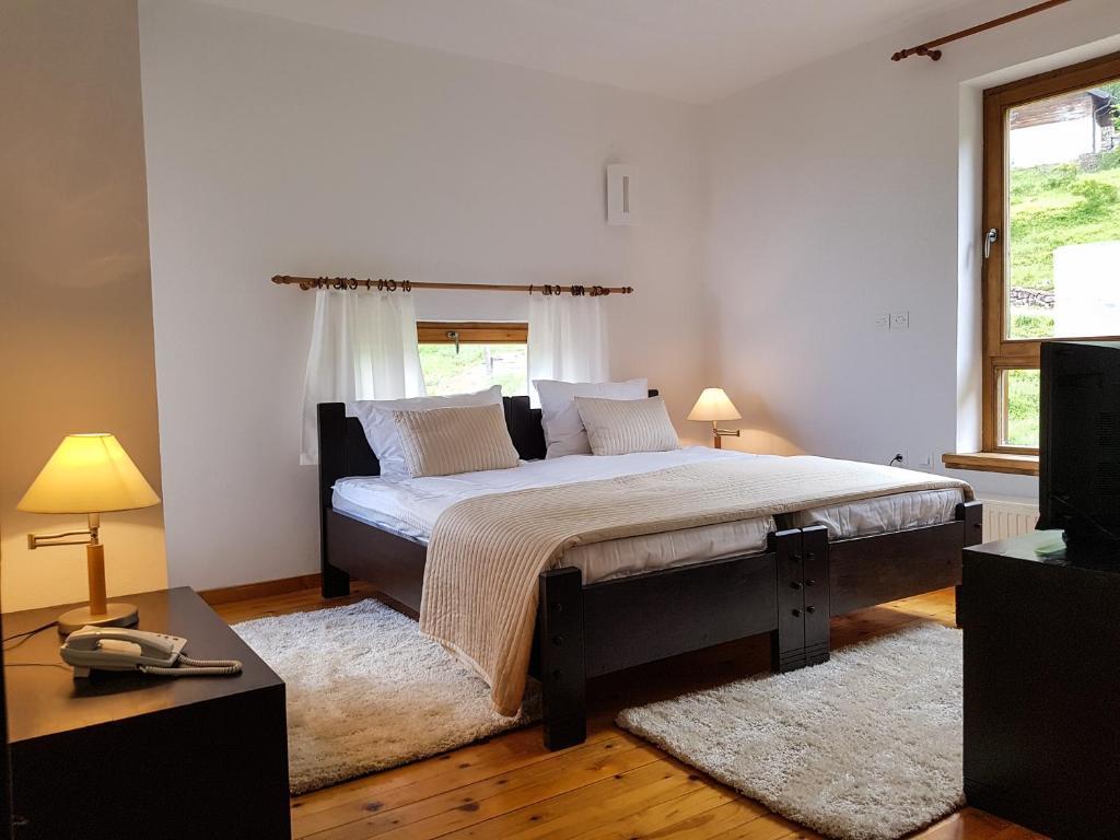 Krevet ili kreveti u jedinici u objektu Motel Cavljak