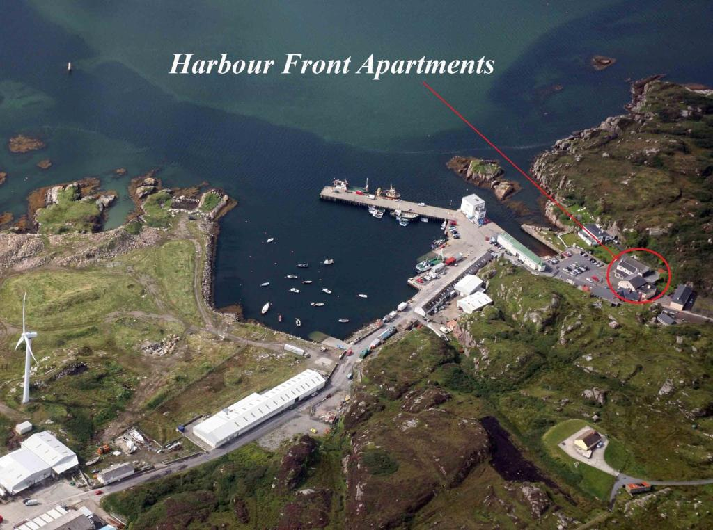 A bird's-eye view of Harbour front apartments