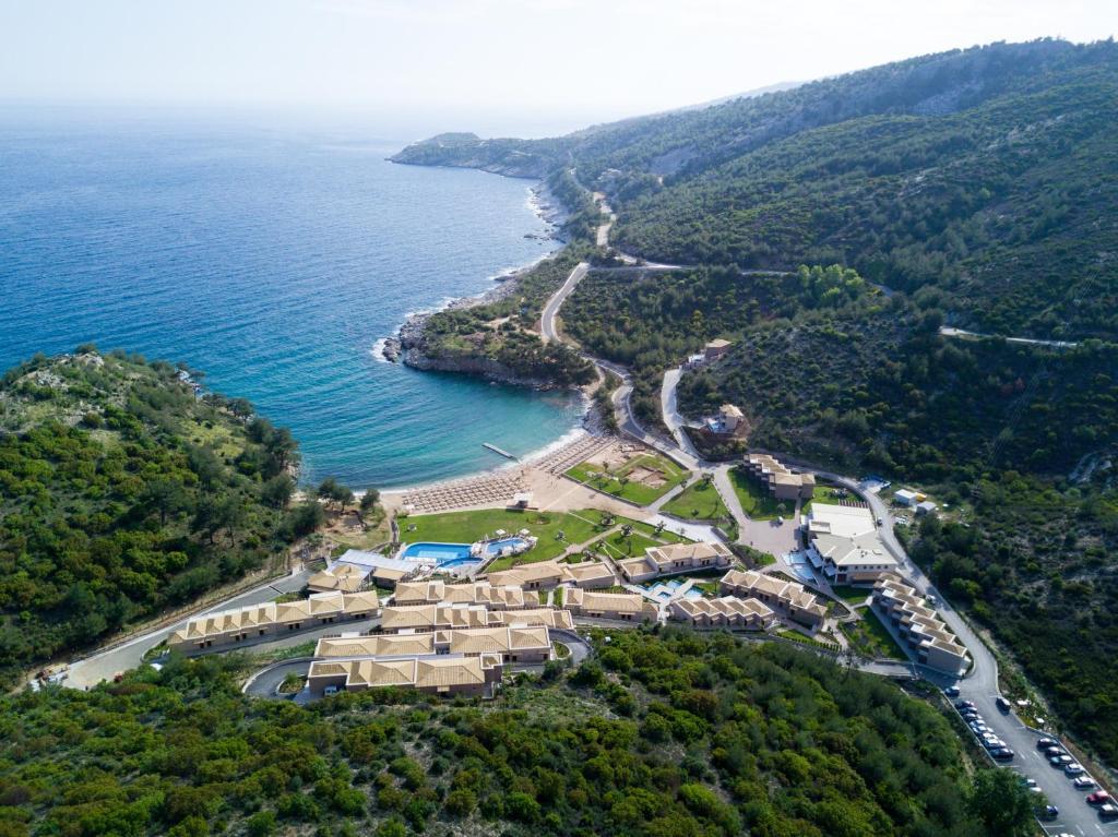 A bird's-eye view of Thassos Grand Resort