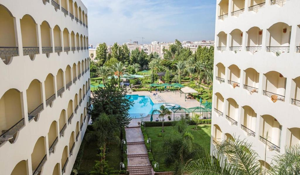 A view of the pool at Zalagh Parc Palace or nearby