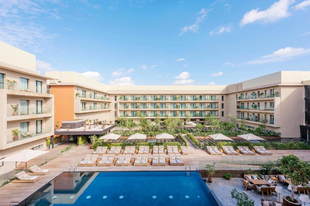 Hotel Radisson Blu Carré Eden (Marruecos Marrakech ...