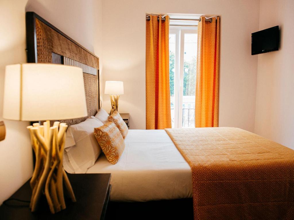 Cama o camas de una habitación en Art Suite