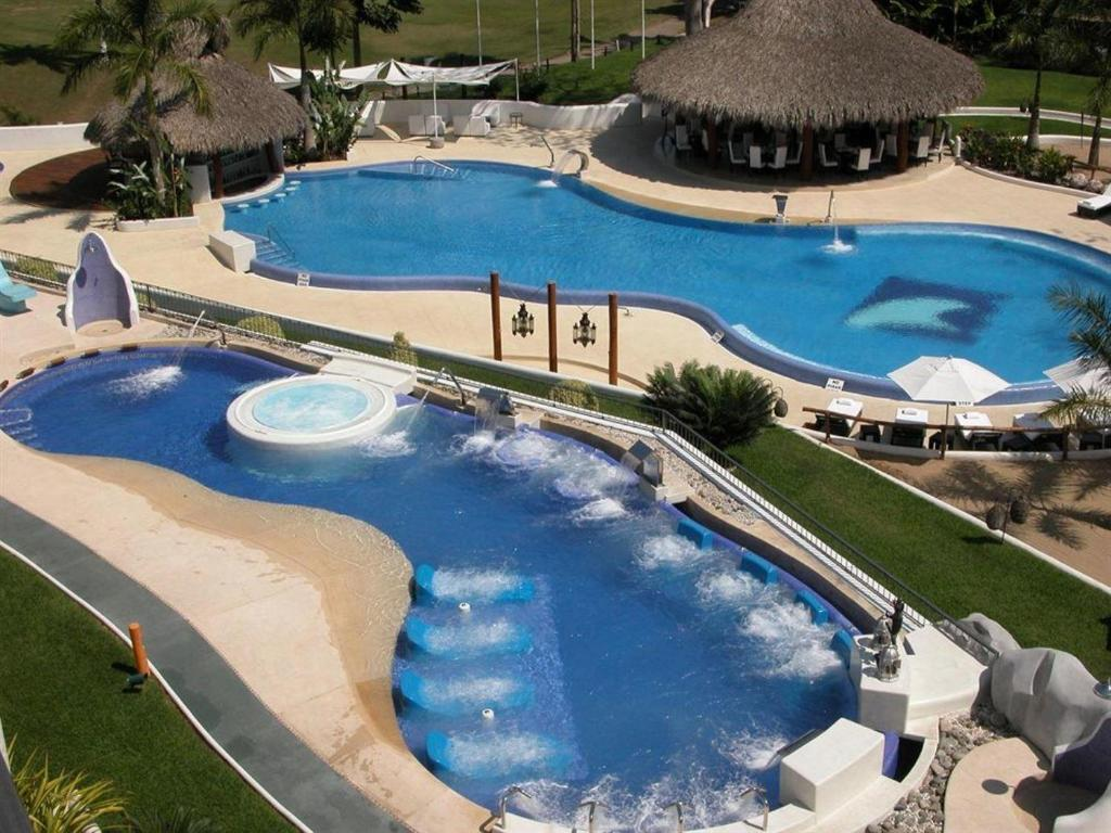 A view of the pool at Villa - All Inclusive! or nearby