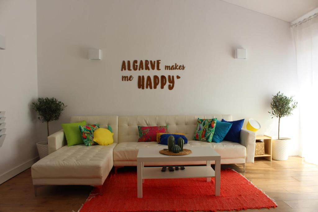 A seating area at Casa Mar Azul