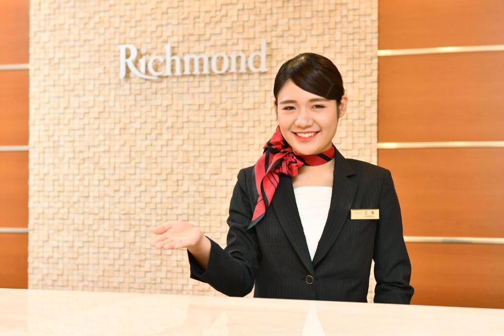 Staff members at Richmond Hotel Hamamatsu