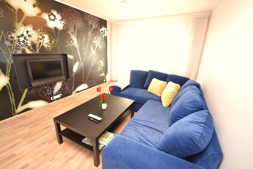 Istumisnurk majutusasutuses Pikk 9 Apartment