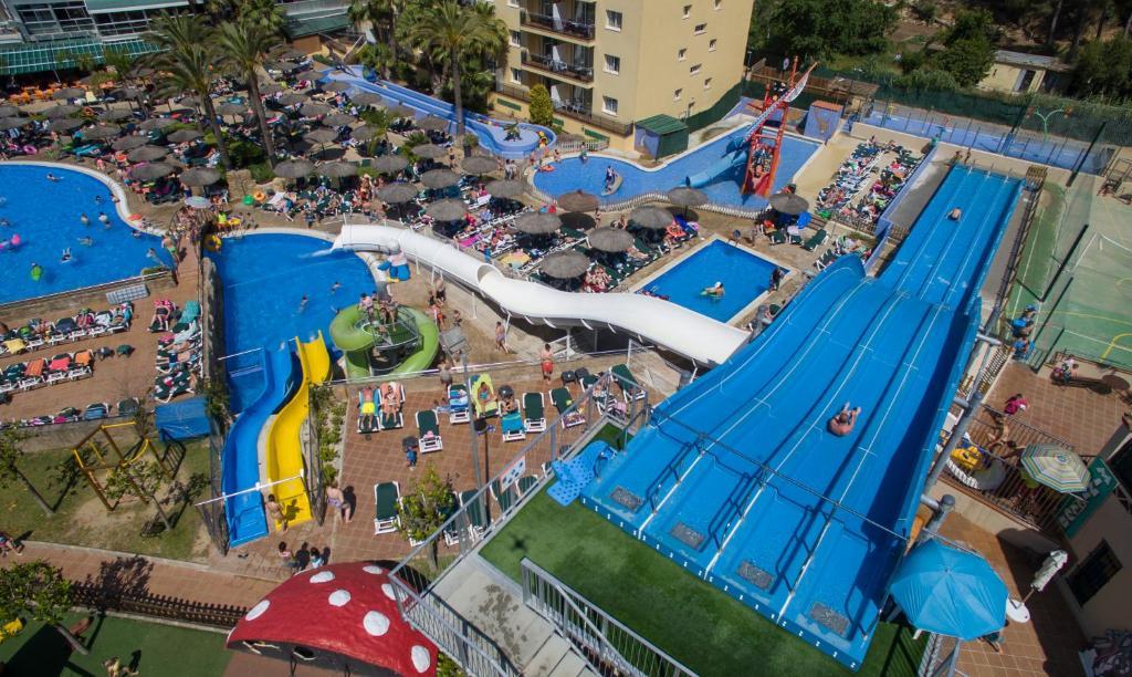 Hotel Rosamar Garden Resort 4* a vista de pájaro