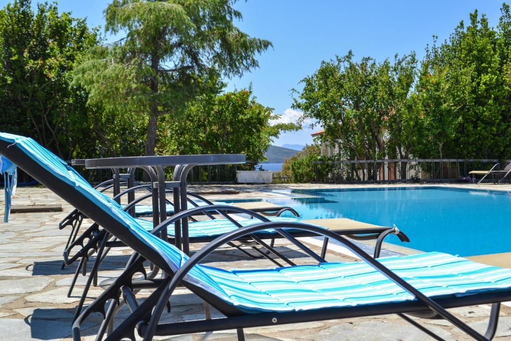 The swimming pool at or near Villa Alba Chiara