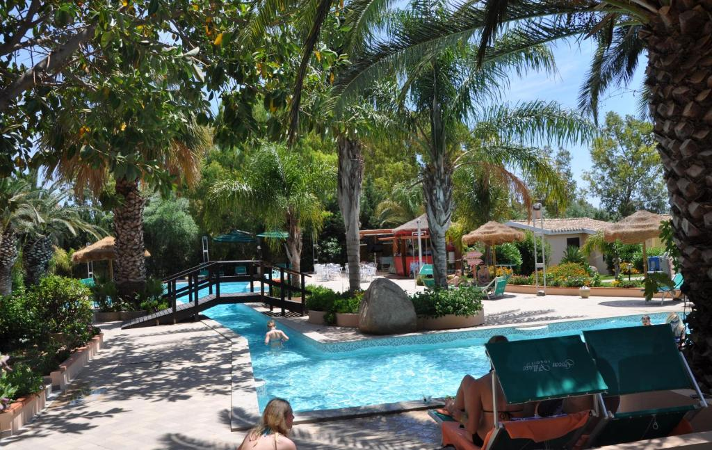 The swimming pool at or near Green Village Resort