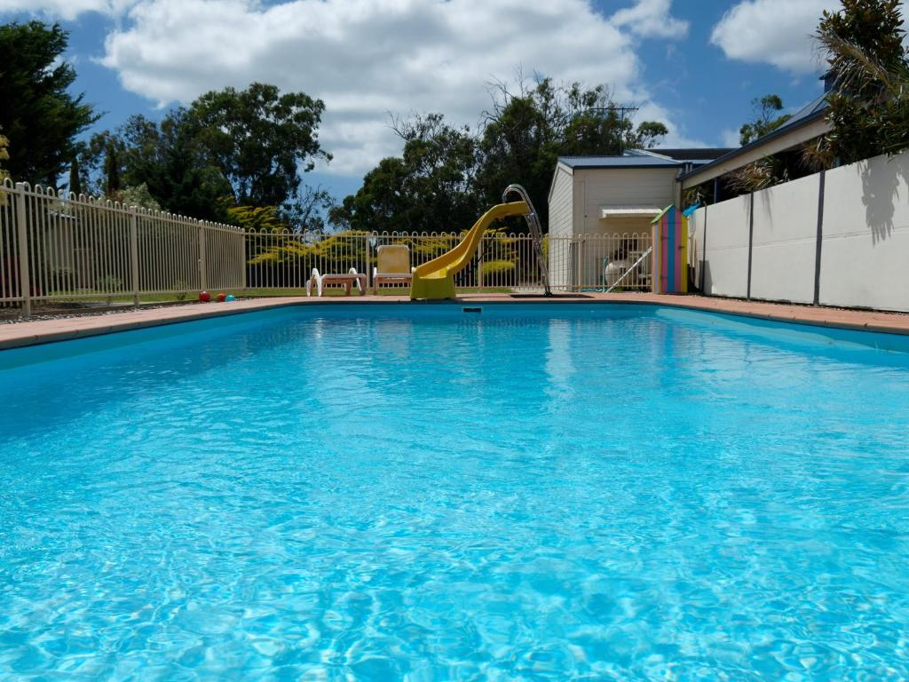 The swimming pool at or near Woodbyne Resort