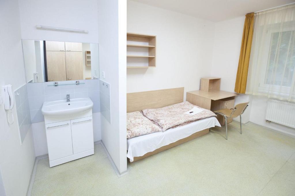 Łazienka w obiekcie Hostel Podolí