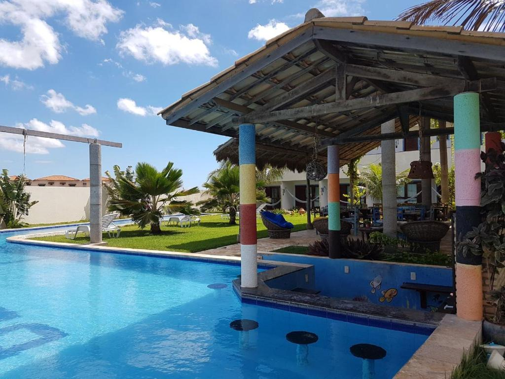 The swimming pool at or close to Hotel Pousada Blauset