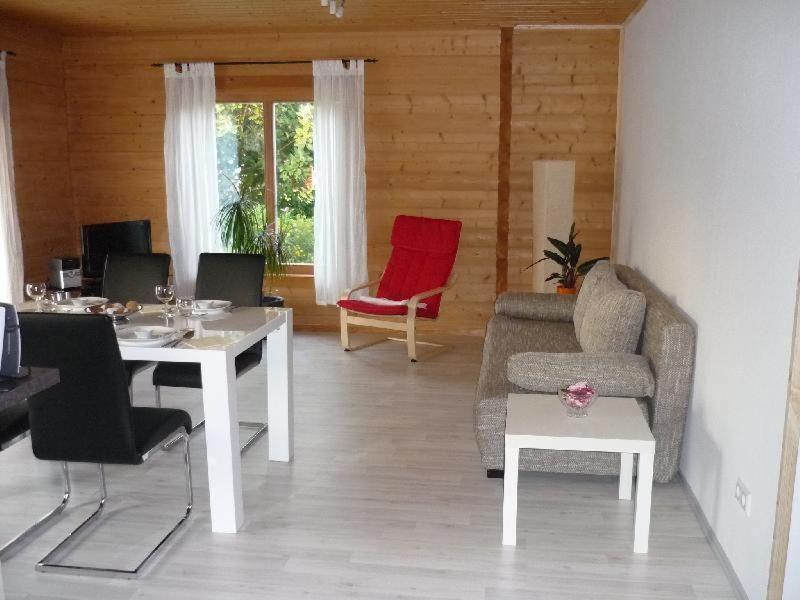 Ein Sitzbereich in der Unterkunft Apartment Limburg
