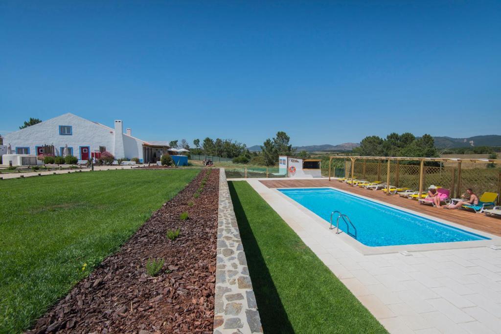 The swimming pool at or near Monte da Corça Nova