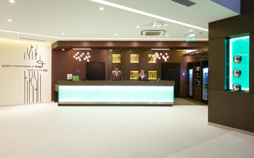 Лобби или стойка регистрации в Hilton Garden Inn Volgograd