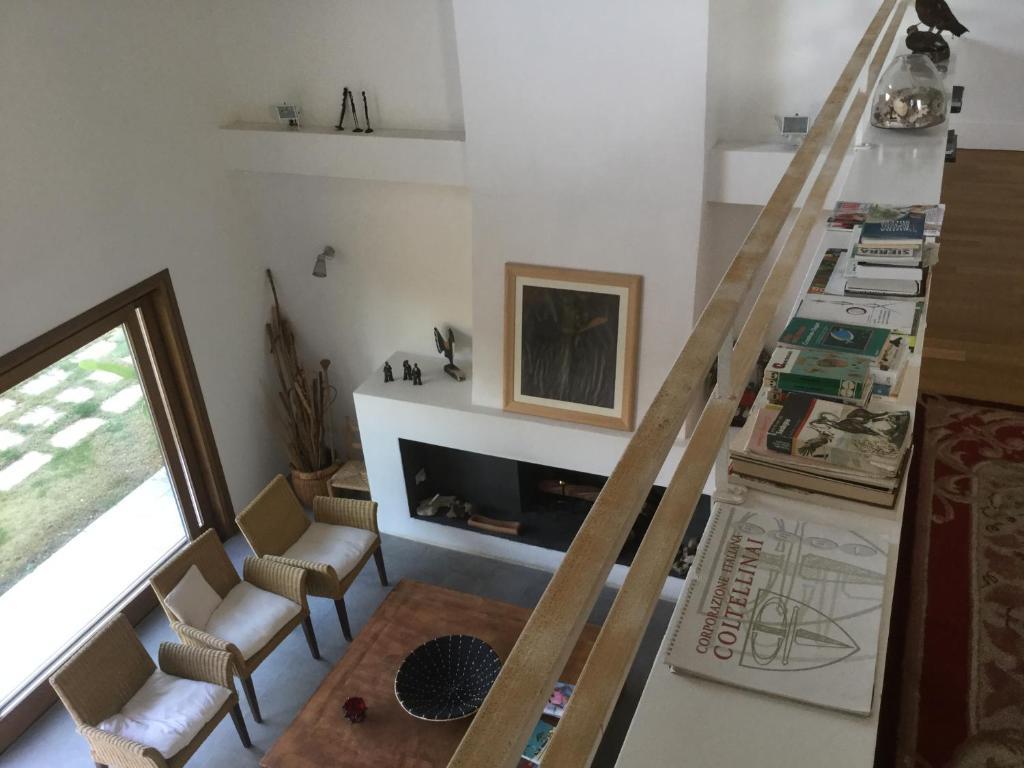 Area soggiorno di Casa Peppina