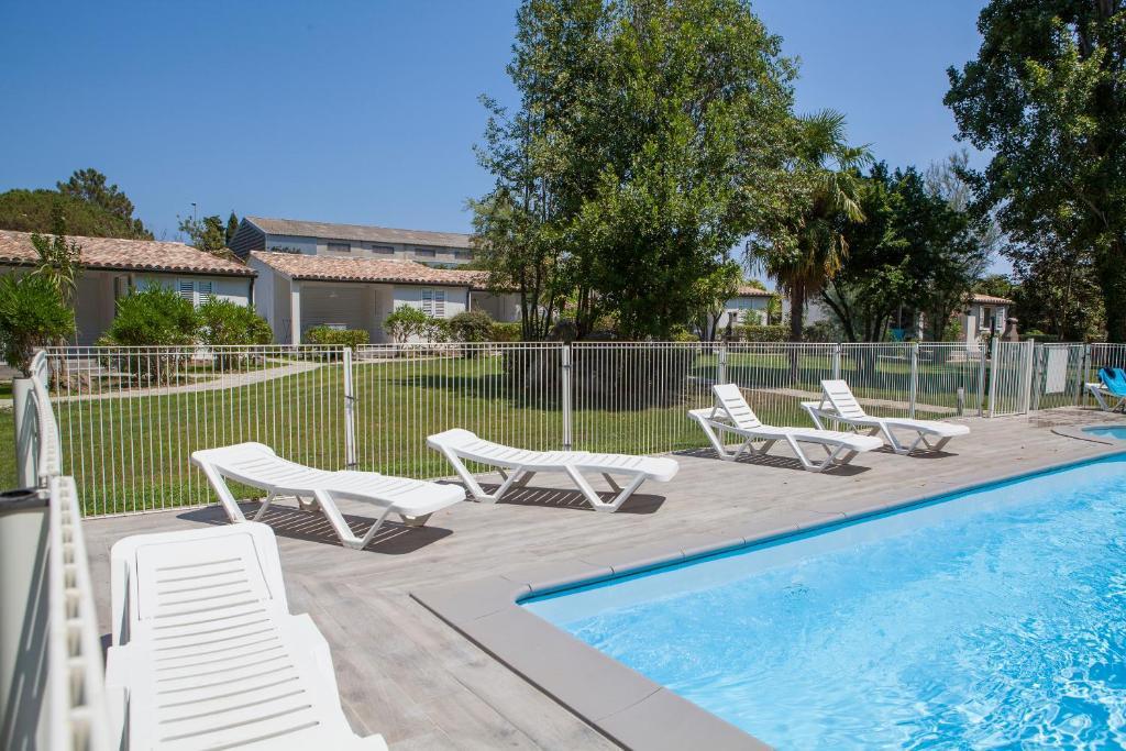 The swimming pool at or near A Suara