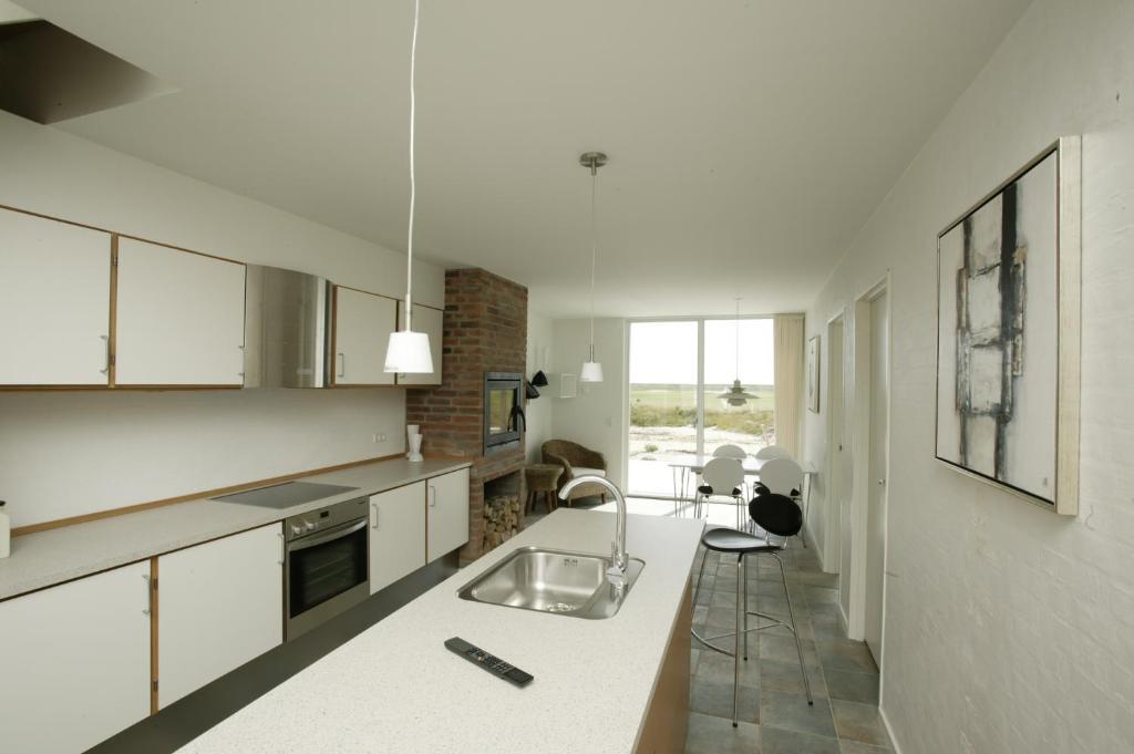 A kitchen or kitchenette at Enjoy Resorts Rømø