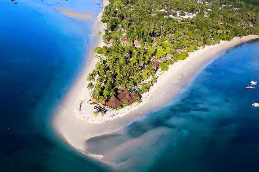 Uma vista aérea de Koh Mook Sivalai Beach Resort