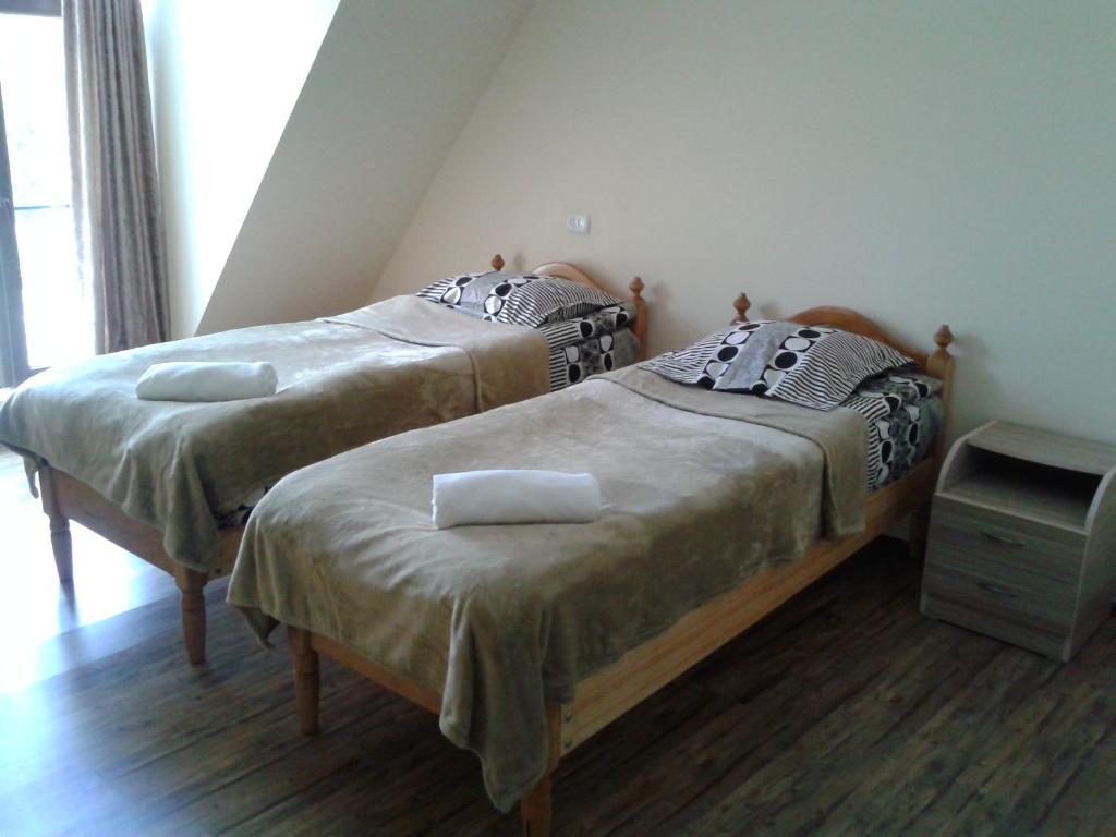 Кровать или кровати в номере Mestiatour Guest House