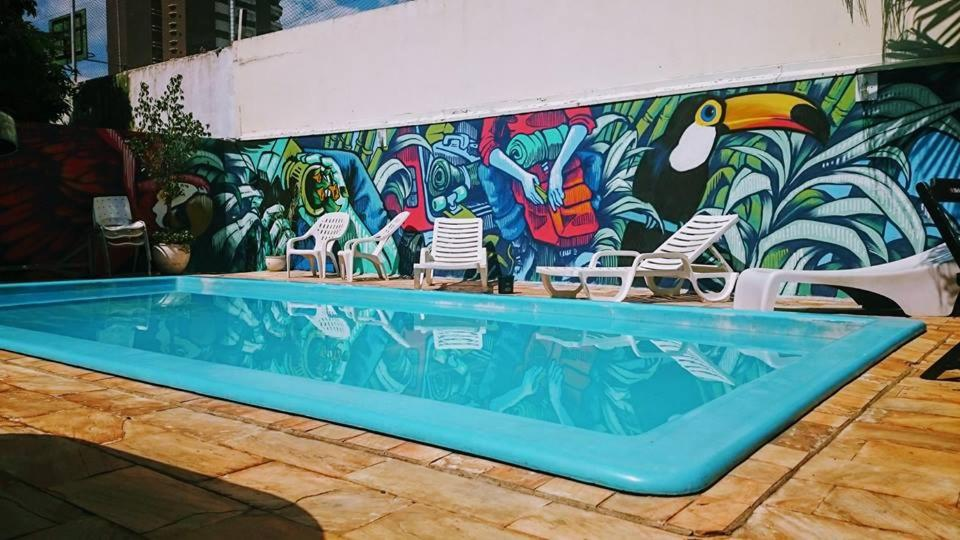The swimming pool at or near Hostel Bambu