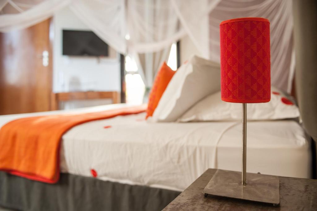 A bed or beds in a room at La Villa 126