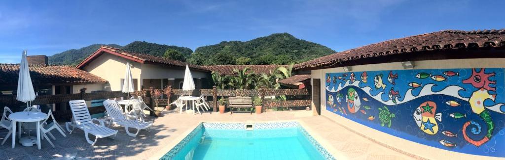 A piscina localizada em Dani Hotel ou nos arredores