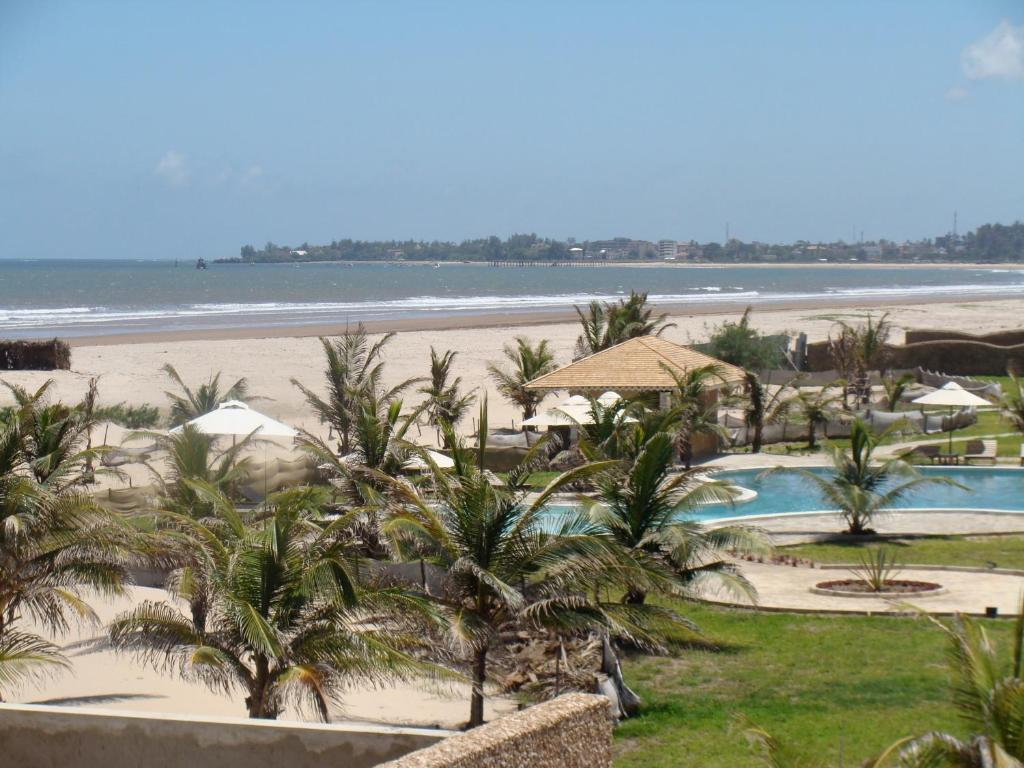 A view of the pool at Ocean Beach Resort & Spa or nearby