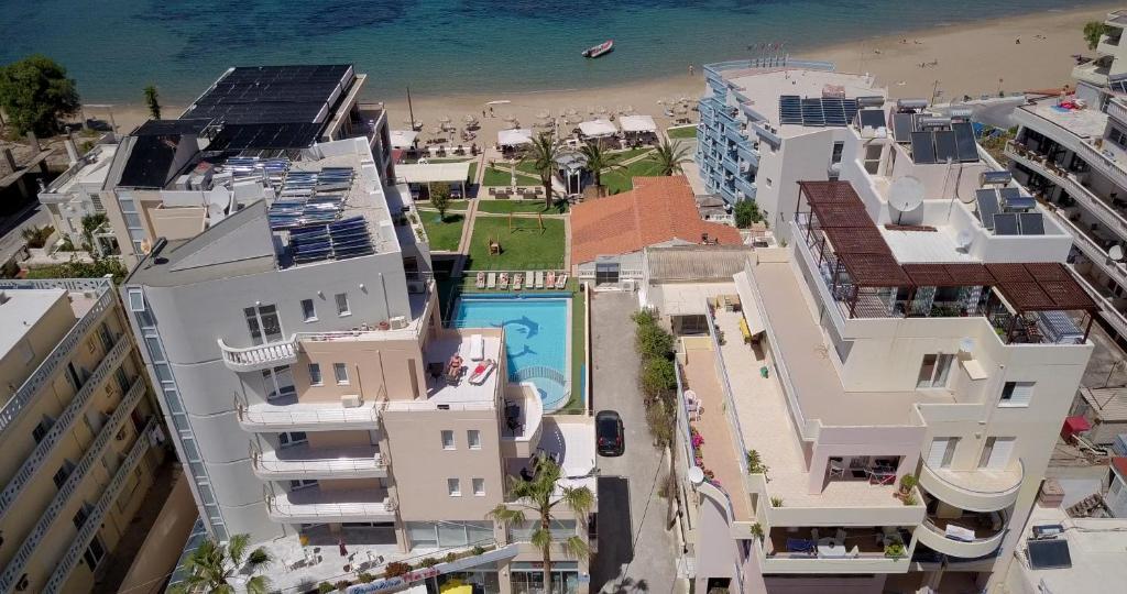 A bird's-eye view of Christina Beach Hotel