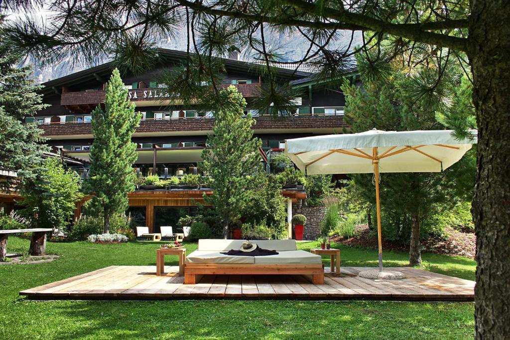 The swimming pool at or near Hotel Ciasa Salares