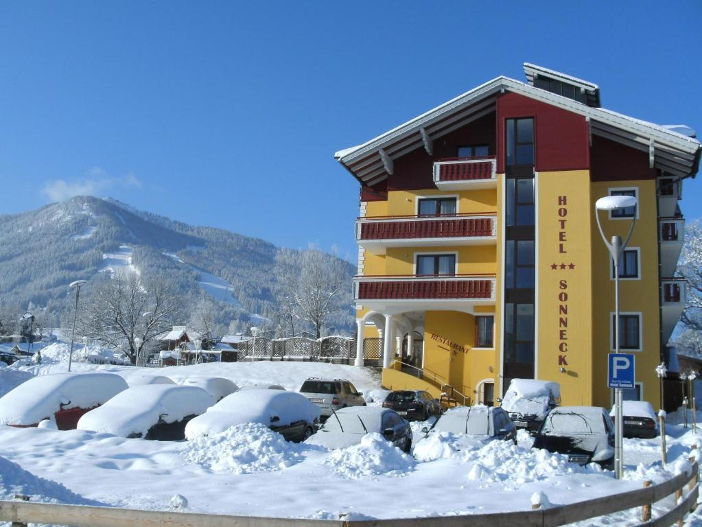 Hotel-Pension Sonneck im Winter