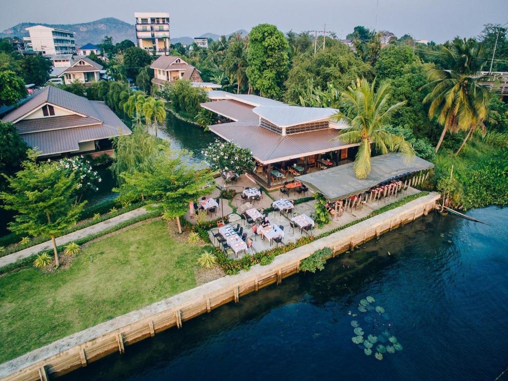 A bird's-eye view of Good Times Resort