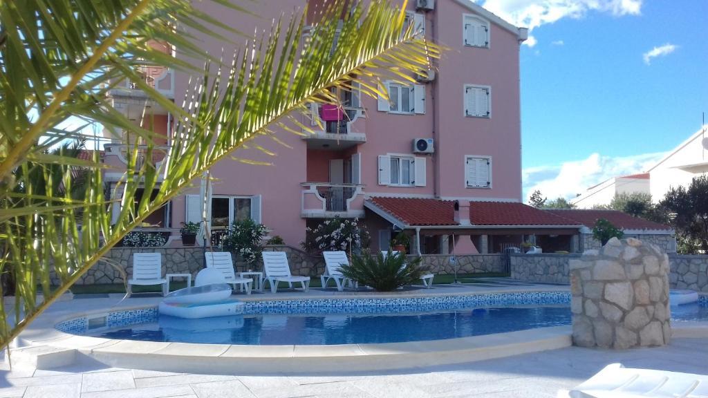 Πισίνα στο ή κοντά στο Apartments Roxsi