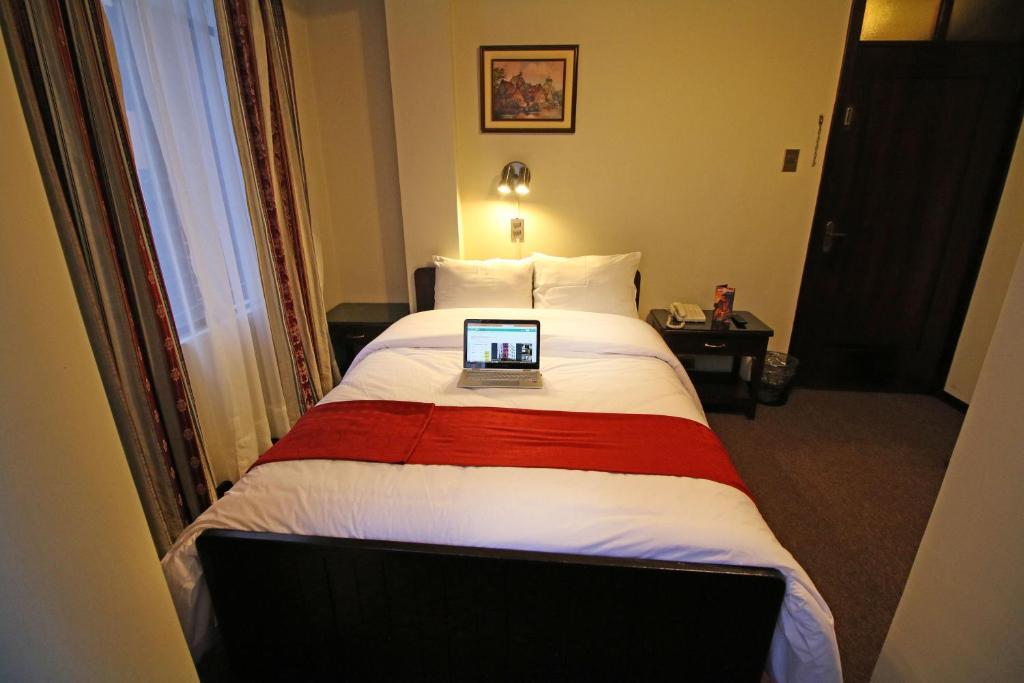 Cama ou camas em um quarto em Camino Real Turistico