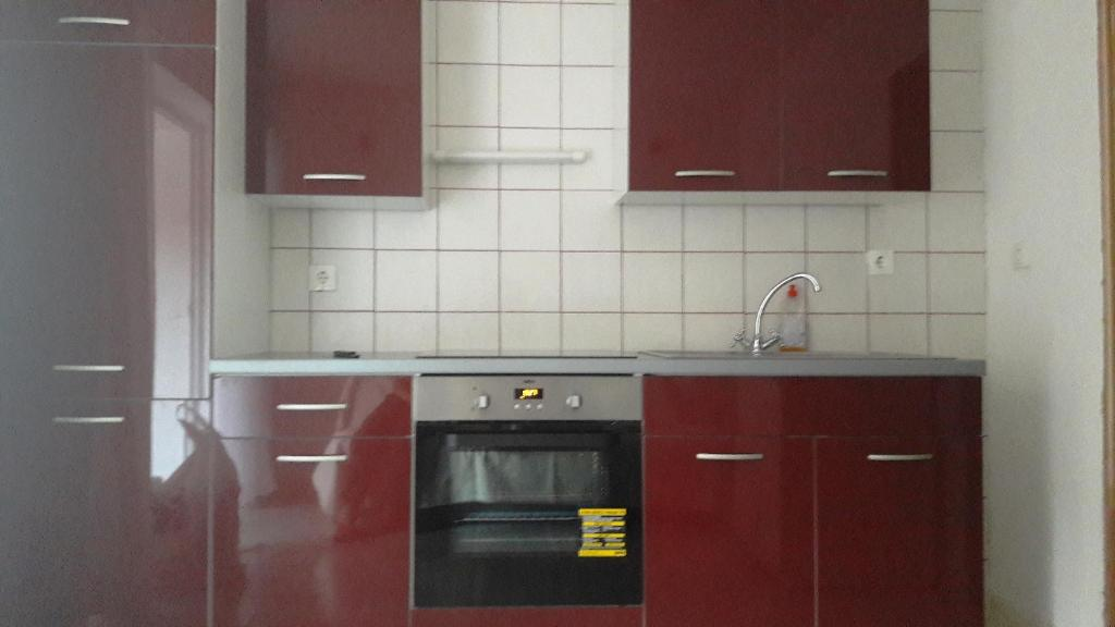 A kitchen or kitchenette at Apartments Villa Baric