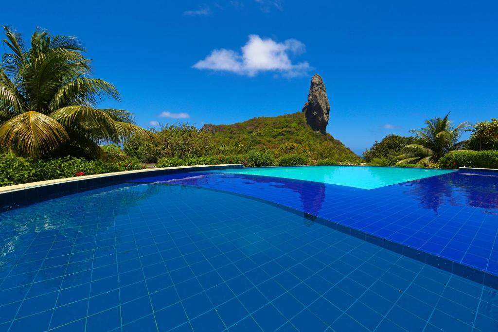 A piscina localizada em Pousada Zé Maria ou nos arredores