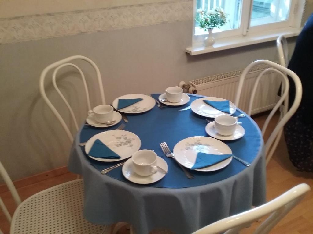Restoranas ar kita vieta pavalgyti apgyvendinimo įstaigoje Poska Villa Guesthouse