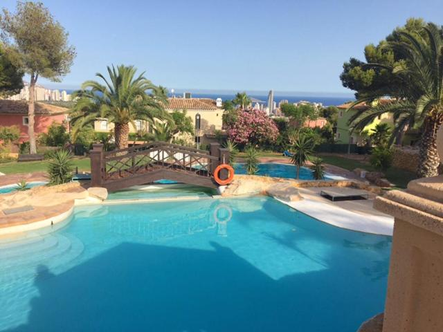 The swimming pool at or close to Golf Bahia bungalow - Aloturin Benidorm