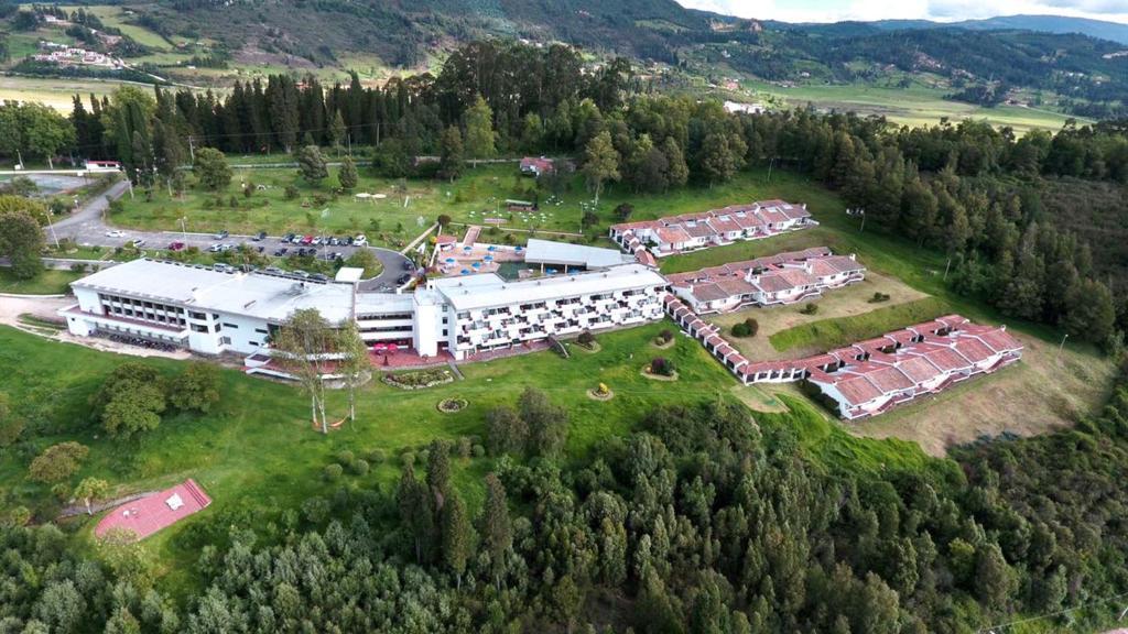 A bird's-eye view of D'Acosta Hotel Sochagota