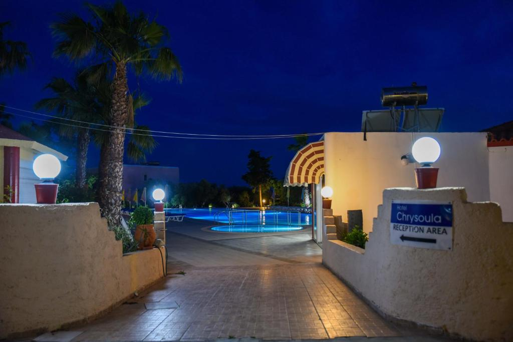 The swimming pool at or near Chrysoula Hotel