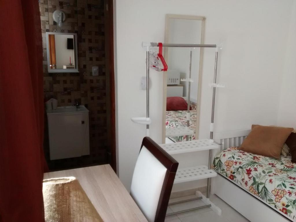 A seating area at Homestay SP Zona Sul Suite