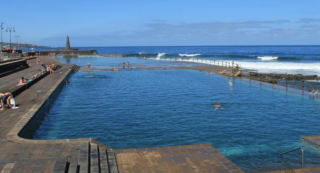 The swimming pool at or near Elisa 13